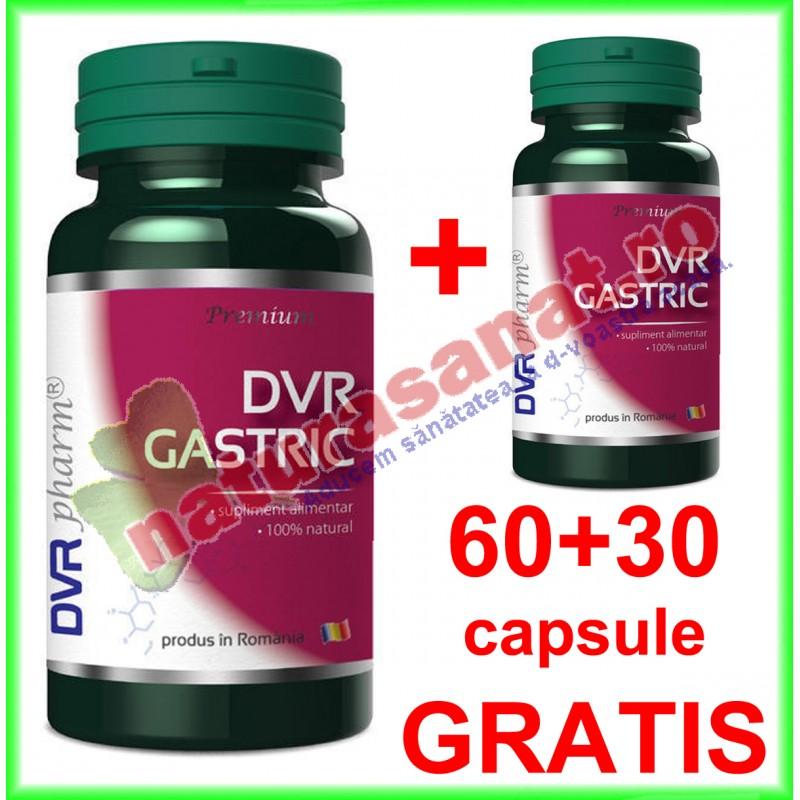 DVR Gastric PROMOTIE 60+30 capsule GRATIS - DVR Pharm - www.naturasanat.ro