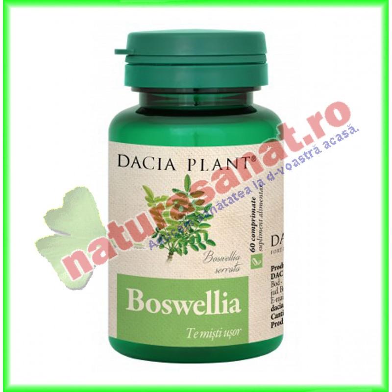 Boswellia 60 comprimate - Dacia Plant - www.naturasanat.ro