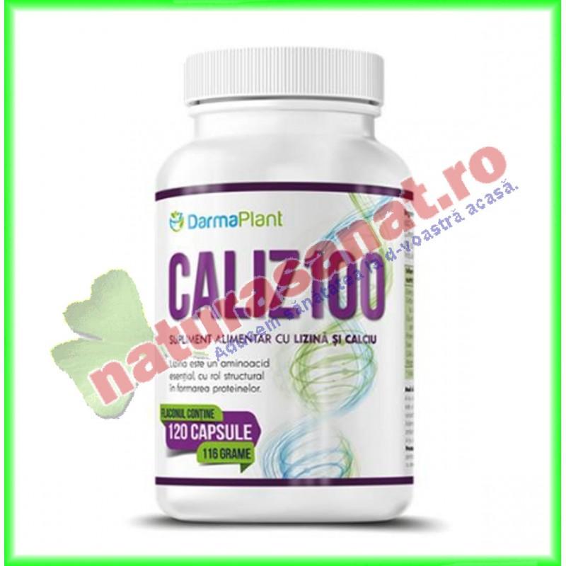 Caliz 100 120 capsule - Darmaplant - www.naturasanat.ro