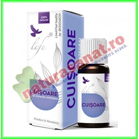 Ulei Volatil Esential Integral (nefractionat) de Cuisoare (Eugenia caryophyllus) 10 ml - Bionovativ - www.naturasanat.ro