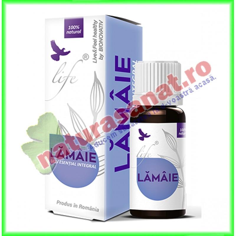 Ulei Volatil Esential Integral (nefractionat) de Lamaie (Citrus limon) 10 ml - Bionovativ - www.naturasanat.ro