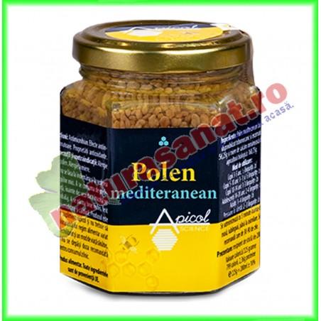 Polen Mediteranean Uscat 120 g - Apicolscience - www.naturasanat.ro