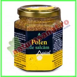 Polen Salcam Uscat 120 g - Apicolscience - www.naturasanat.ro