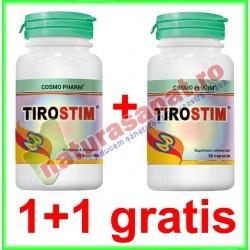 Tirostim 30 capsule PROMOTIE 1+1 GRATIS - Cosmo Pharm - www.naturasanat.ro