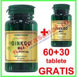 Ginkgo Max Extract 120 mg...