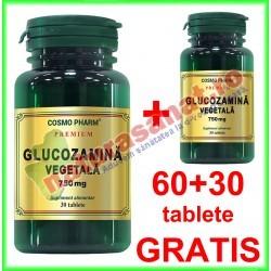 Glucozamina Vegetala 750 mg PROMOTIE 60+30 capsule GRATIS - Cosmo Pharm - Cosmo Pharm - www.naturasanat.ro