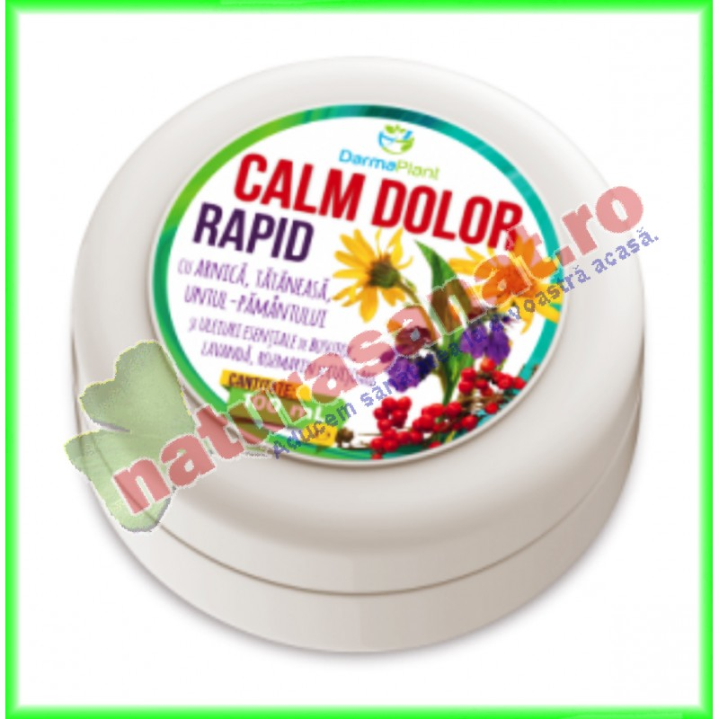 Calm Dolor Rapid 100ml - www.naturasanat.ro