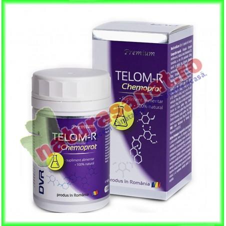 Telom-R Chemoprot 120 capsule - DVR Pharm - www.naturasanat.ro