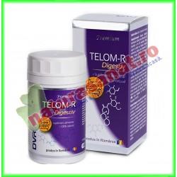 Telom-R Digestiv 120 capsule - DVR Pharm - www.naturasanat.ro