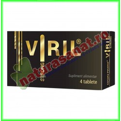 Viril Strong 4 tablete - Cosmo Pharm - www.naturasanat.ro