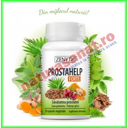 ProstaHelp Forte 30 capsule vegetale - Zenyth - www.naturasanat.ro