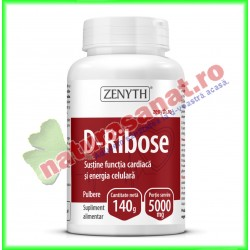 D-Ribose Pulbere 140 g -...
