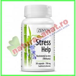 Stress Help 30 capsule - Zenyth - www.naturasanat.ro