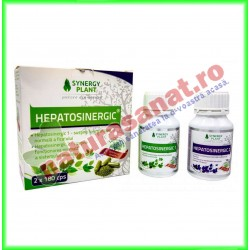 HepatoSinergic Kit 2X180 capsule - Synergy Plant - www.naturasanat.ro
