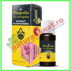 Propolis cu Astragalus Extract Glicerohidric 30 ml  Apicolscience - www.naturasanat.ro