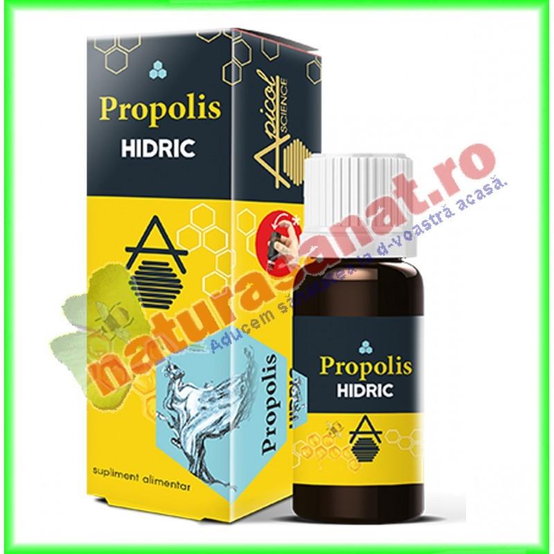 Propolis Hidric 30 ml - Apicolscience - www.naturasanat.ro