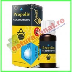 Propolis Glicerohidric 30 ml - Apicolscience - www.naturasanat.ro