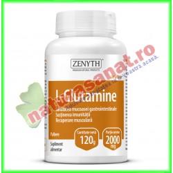 L-Glutamine 120 g - Zenyth - www.naturasanat.ro