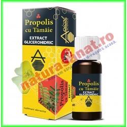 Propolis cu Tamaie extract Glicerohidric 30 ml - Apicolscience - www.naturasanat.ro