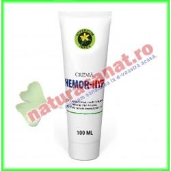 Hemor Hyp Crema 100 ml - Hypericum Impex - www.naturasanat.ro