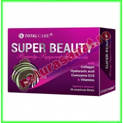 Super Beauty (Beauty Support Formula) 30 tablete filmate - Cosmo Pharm - www.naturasanat.ro