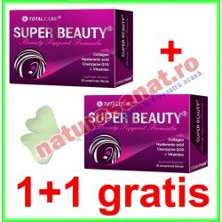 Super Beauty (Beauty Support Formula) 30 tablete filmate PROMOTIE 1+1 GRATIS - Cosmo Pharm - www.naturasanat.ro