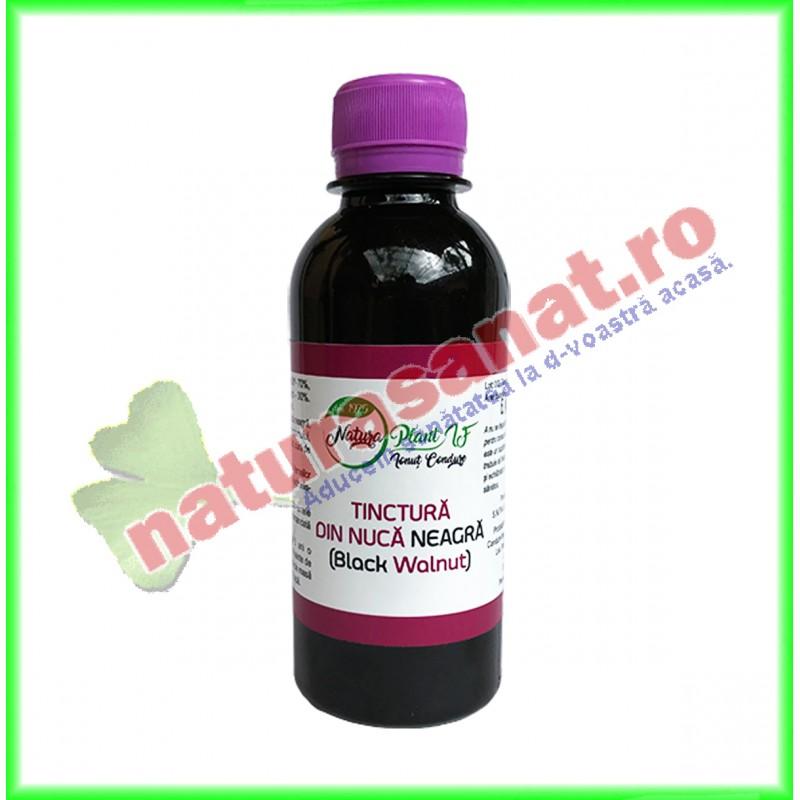 Tinctura de Nuca Neagra 100 ml - Natura Plant I.F. - www.naturasanat.ro