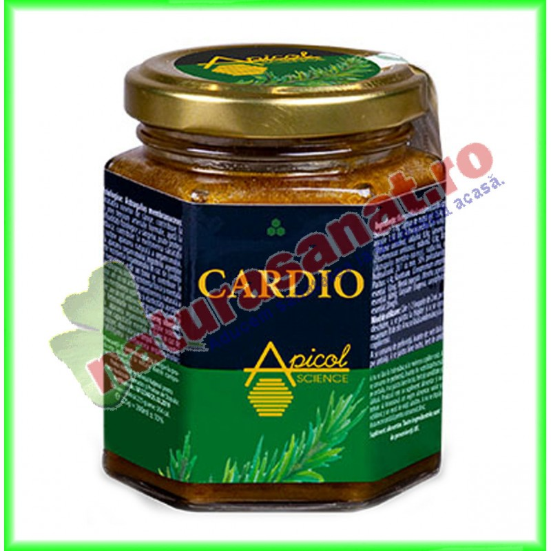 Cardio 200 ml - Apicolscience - www.naturasanat.ro