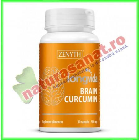 Longvida ® Brain Curcumin 30 capsule - Zenyth - www.naturasanat.ro