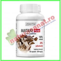Maitake Forte 60 capsule - Zenyth - www.naturasanat.ro