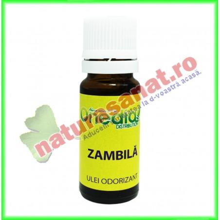 Zambila Ulei Odorizant 10 ml - Onedia Distribution - www.naturasanat.ro