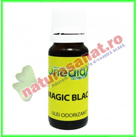 Magic Black Ulei Odorizant 10 ml - Onedia Distribution - www.naturasanat.ro