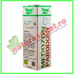 Medozon Parodont 10 ml - Hempmed Pharma - www.naturasanat.ro