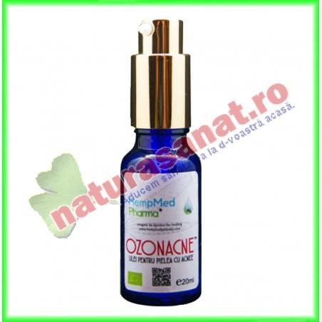 Ozonacne Ulei pentru Pielea cu Acnee 20 ml - Hempmed Pharma - www.naturasanat.ro