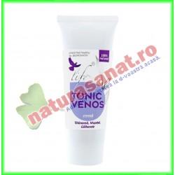 Tonic Venos Crema 50 ml - Bionovativ - www.naturasanat.ro