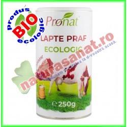 Lapte Praf Bio Grasime 26% 250g - Pronat - www.naturasanat.ro