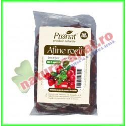 Afine Rosii Uscate (Merisoare) 100 g - Pronat - www.naturasanat.ro