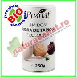 Amidon Pudra de Tapioca Ecologica 250 g - Pronat - www.naturasanat.ro
