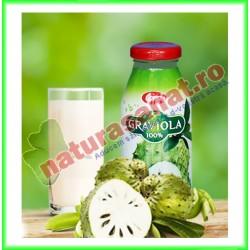 Suc de Graviola 250 ml - Pronat - www.naturasanat.ro
