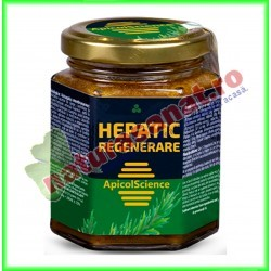 Hepatic Regenerare 200 ml - Apicolscience - www.naturasanat.ro