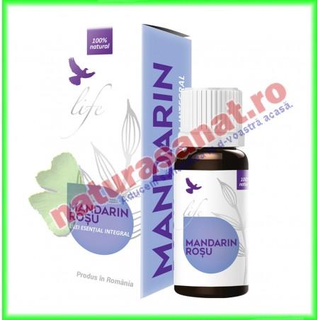 Mandarin Rosu Ulei Volatil Esential 10 ml - Bionovativ - www.naturasanat.ro