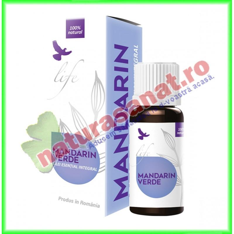 Mandarin Verde Ulei Volatil Esential 10 ml - Bionovativ - www.naturasanat.ro