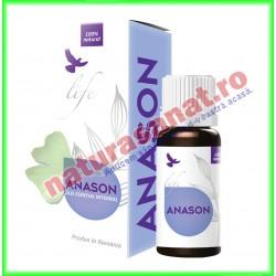 Anason Ulei Volatil Esential 10 ml - Bionovativ - www.naturasanat.ro