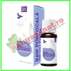 Raw Portocala de Valencia Ulei Volatil Esential 10 ml - Bionovativ - www.naturasanat.ro