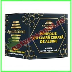 Crema Super-Protectiva cu Ceara Curata de Albine 75 ml - Apicolscience - www.naturasanat.ro