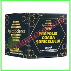 Crema Super-Protectiva cu Propolis si Coada Soricelului 75 ml - Apicolscience - www.naturasanat.ro