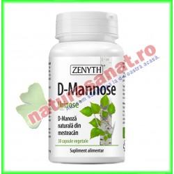 D-Mannose 30 capsule vegetale - Zenyth - www.naturasanat.ro