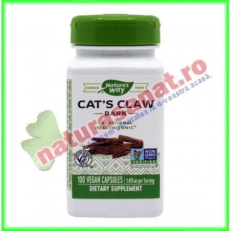 Cat's Claw (Gheara matei) 100 capsule - Nature's Way - Secom - www.naturasanat.ro