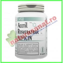 Acetil Resveratrol cu Fulvicin 60 capsule - Radu & Sons / RACO - www.naturasanat.ro