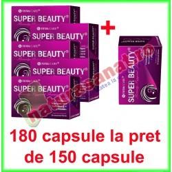 Super Beauty (Beauty Support Formula) PROMOTIE 180 tablete la pret de 150 tablete filmate - Cosmo Pharm - www.naturasanat.ro